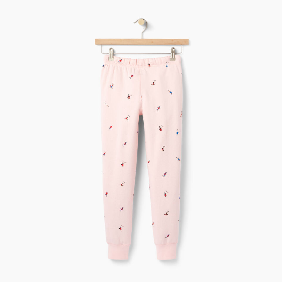 Roots-Kids Our Favourite New Arrivals-Girls Skater AOP Sweatpant-Light Pink-B