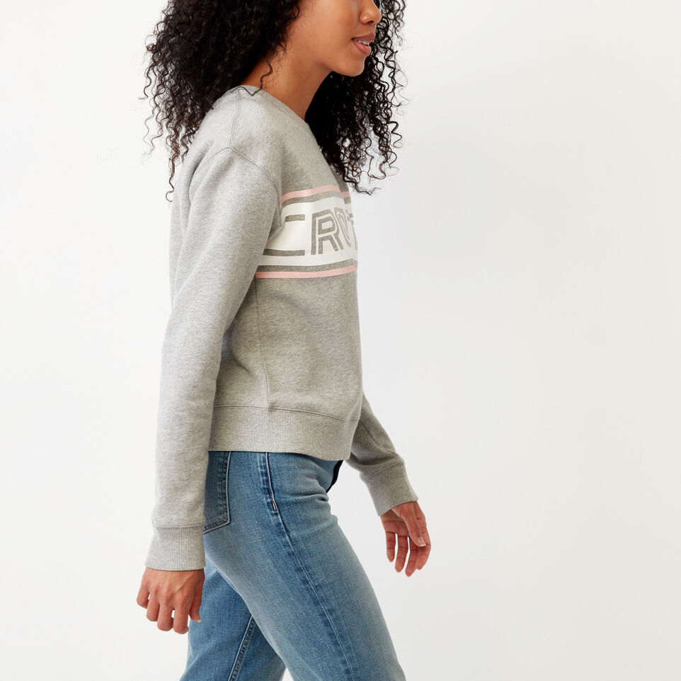 Roots-undefined-Ribbon Crew Sweatshirt-undefined-C