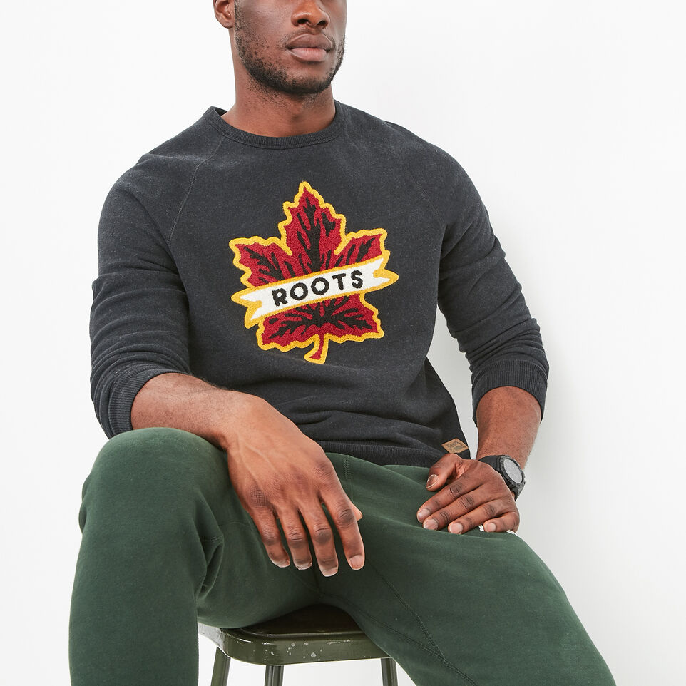 Roots-undefined-Heritage Leaf Crewneck-undefined-A