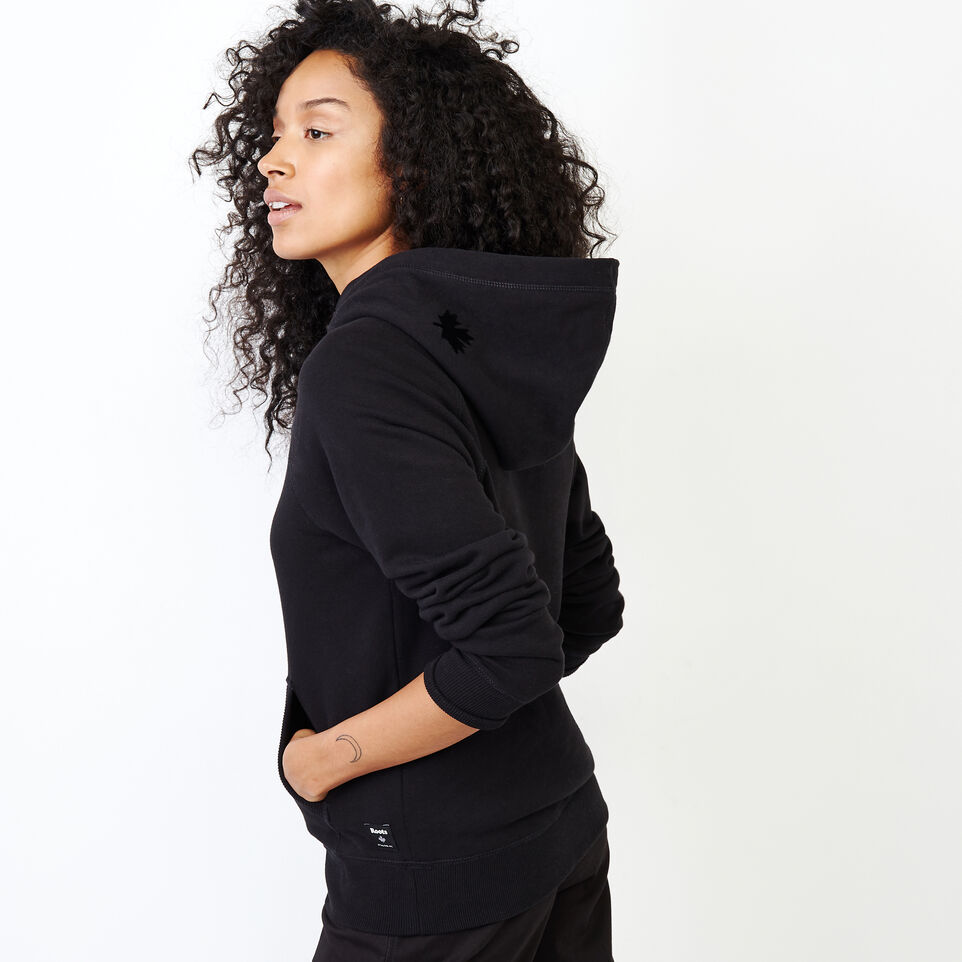 Roots-Women Our Favourite New Arrivals-Original Kanga Hoody-Black-C