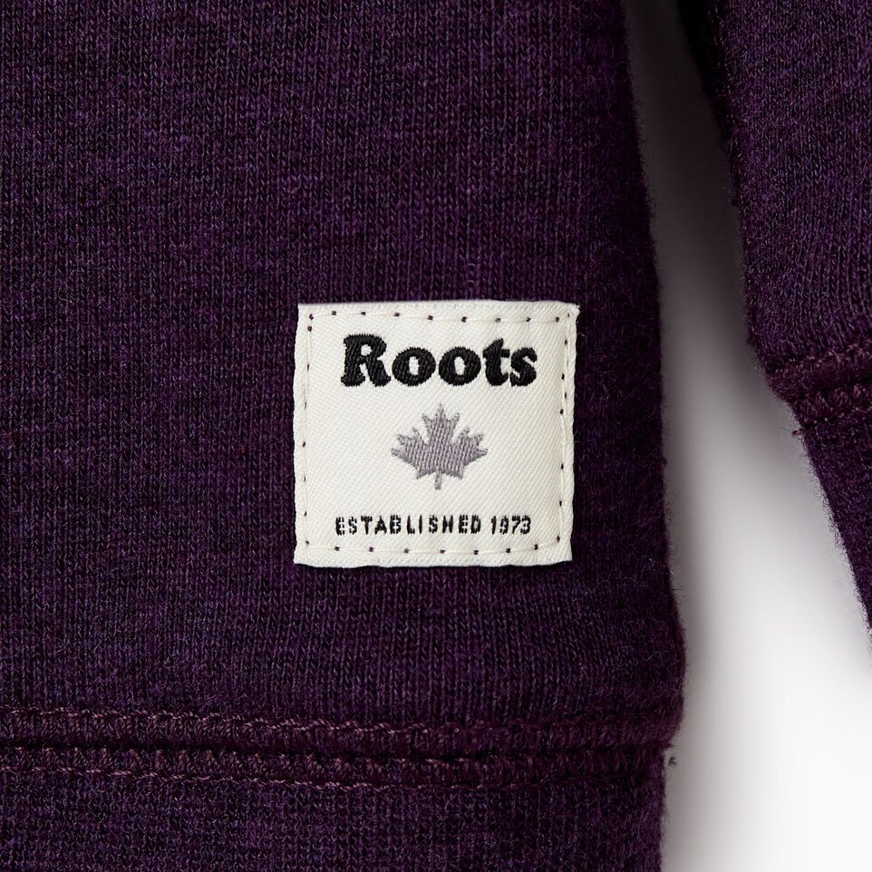 Roots-New For December Kids-Baby Laurel Crewneck Sweatshirt-Blackberry Mix-D