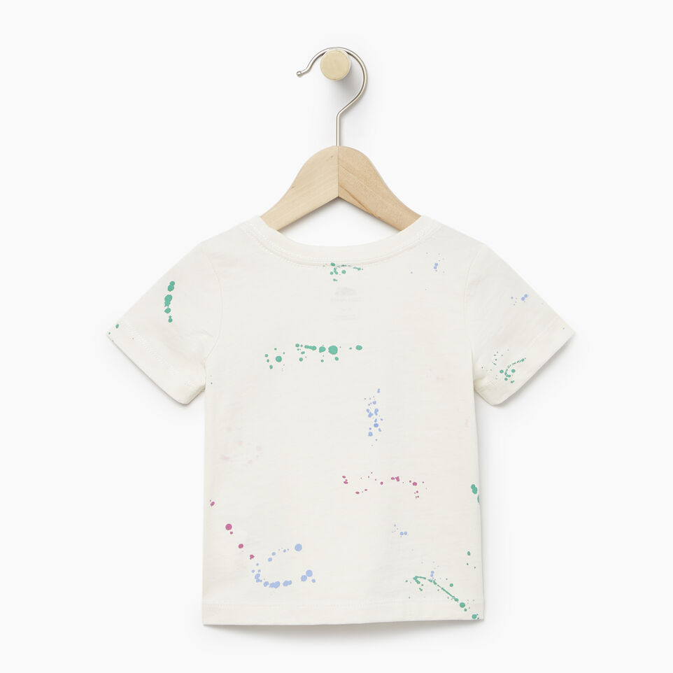 Roots-undefined-Baby Splatter Aop T-shirt-undefined-B