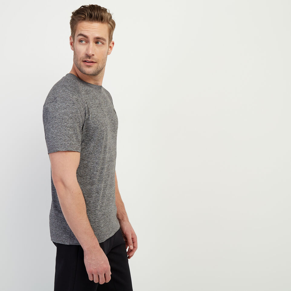 Roots-Men Our Favourite New Arrivals-Journey T-Shirt-Charcoal Pepper-C