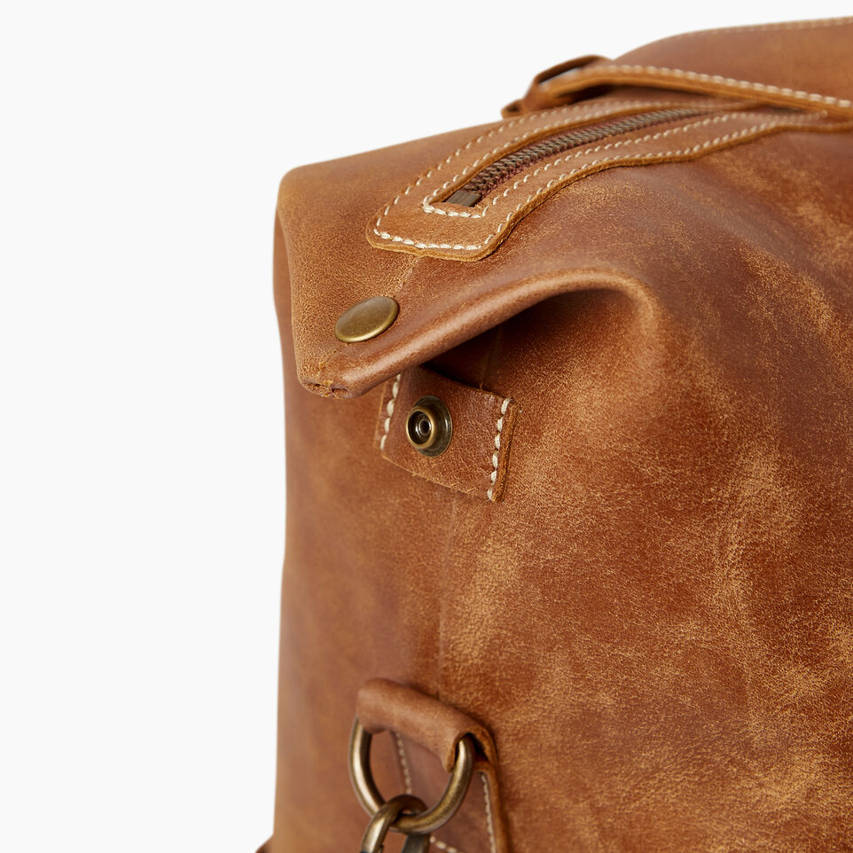 Roots-Leather Bestsellers-Whistler Weekender-Natural-E