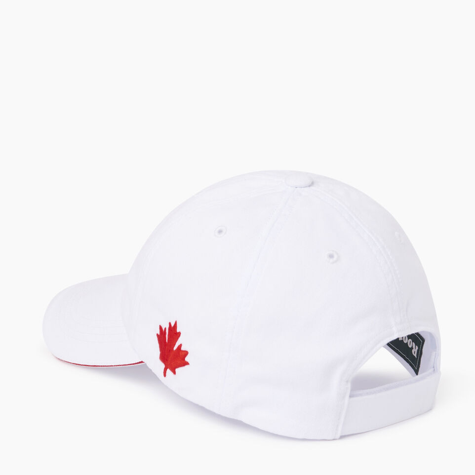 Roots-Men Our Favourite New Arrivals-Canada Baseball Cap-White-C