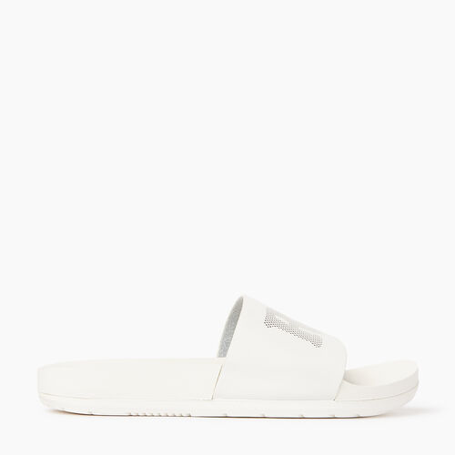 Roots-Footwear Women's Footwear-Womens Long Beach Pool Slide-Pearl-A