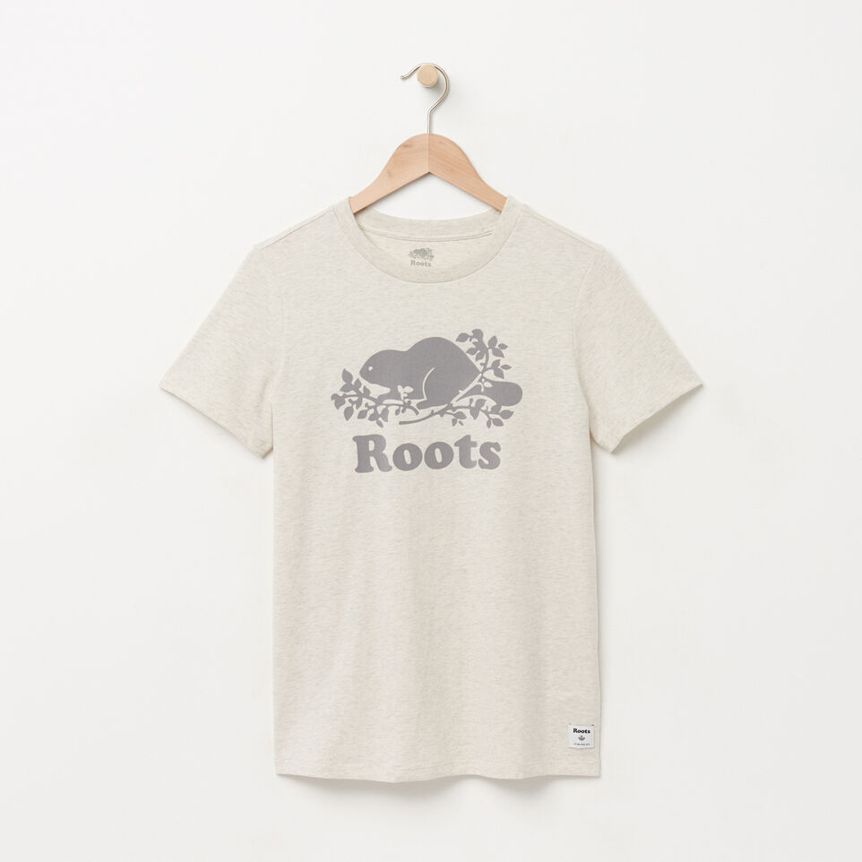 Roots-undefined-Womens Original Cooper Beaver T-shirt-undefined-A