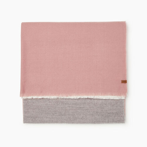 Roots-Women Accessories-Arnaud Scarf-Pink-A