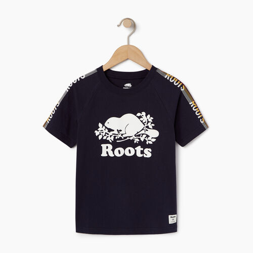 Roots-Kids Our Favourite New Arrivals-Boys Speedy Frank T-shirt-Navy Blazer-A