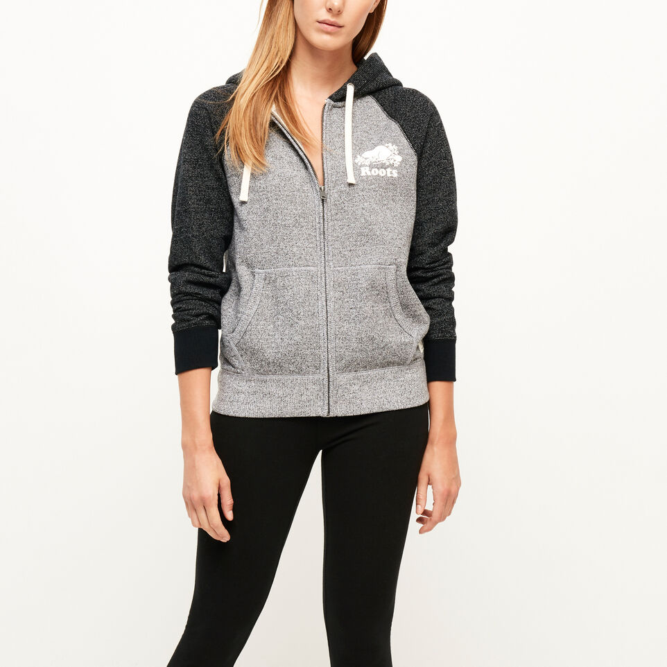 Roots-undefined-Colour-blocked Zip Hoody-undefined-A