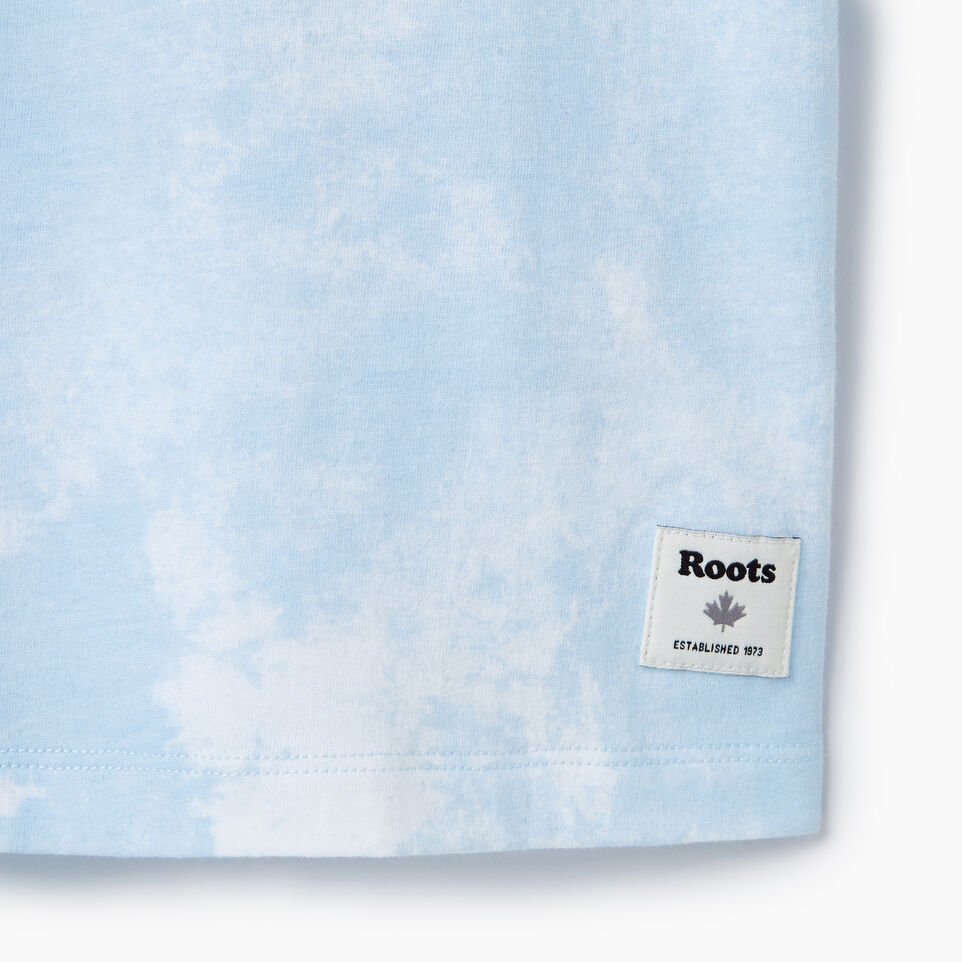 Roots-New For March Daily Offer-Womens Moncton T-shirt-Baby Blue-C