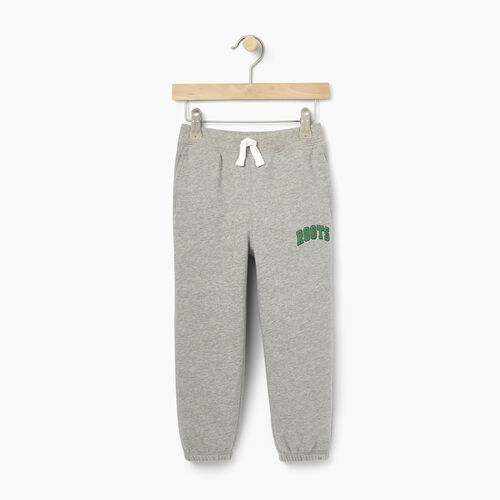 Roots-Winter Sale Toddler-Toddler Plated Fleece Sweatpant-Grey Mix-A