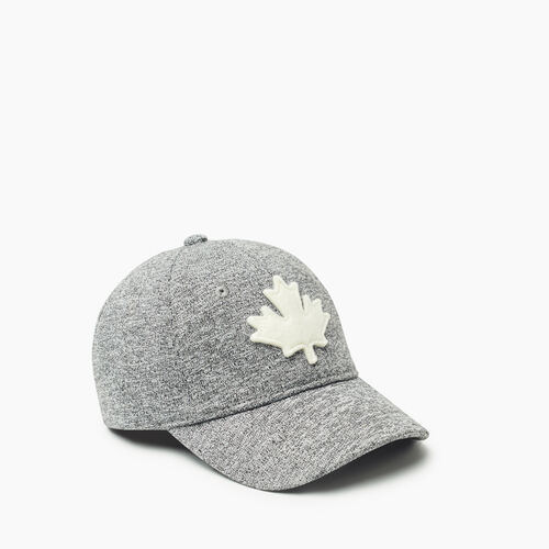 Roots-Kids Toddler Boys-Toddler Canada Baseball Cap-Salt & Pepper-A
