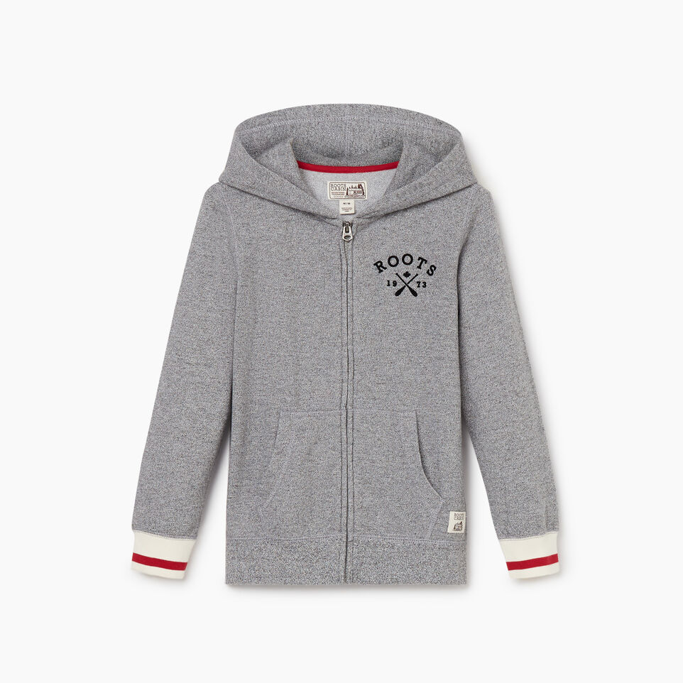 Roots-undefined-Boys Cabin Full Zip Hoody-undefined-B
