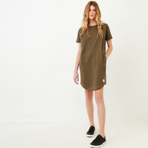 Roots-Women Our Favourite New Arrivals-Comox Dress-Fatigue-A