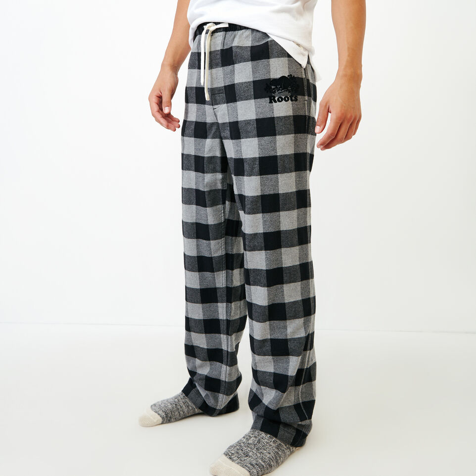 Roots-Men New Arrivals-Inglenook Lounge Pant-Grey Mix-A