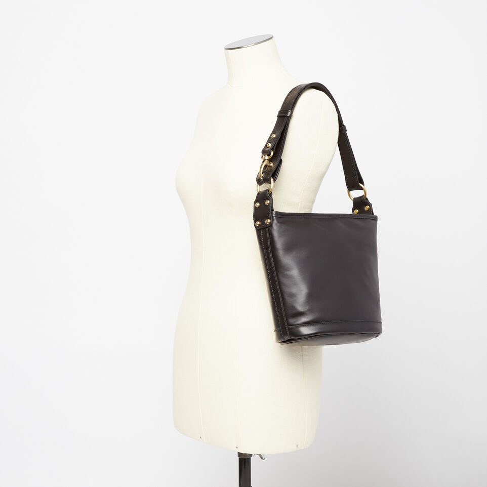 Roots-Winter Sale Leather-Feed Bag Heritage-Black-B