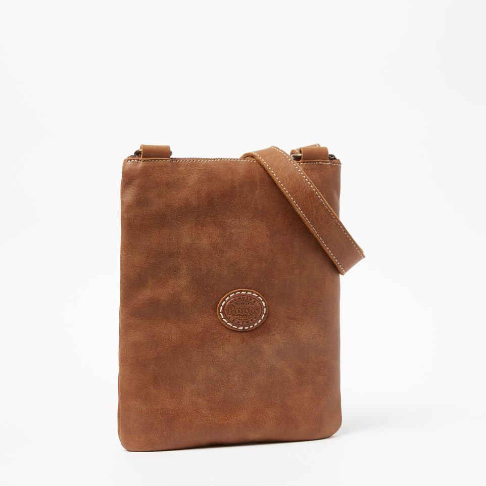Roots-Leather Handbags-Small Venetian Tribe-Natural-C
