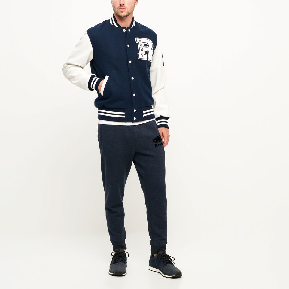Roots-Men Award Jackets-Vintage Award Jacket-Navy-B