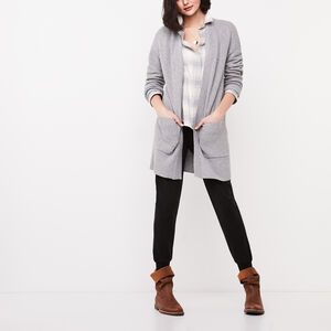 Roots-Sale Women-Nova Cardigan-Grey Mix-A