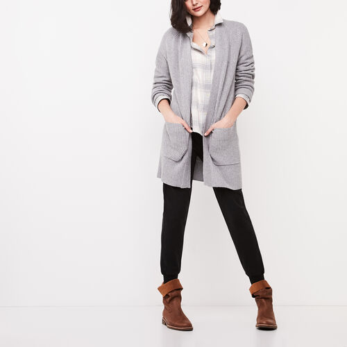 Roots-Sale Jackets & Sweaters-Nova Cardigan-Grey Mix-A