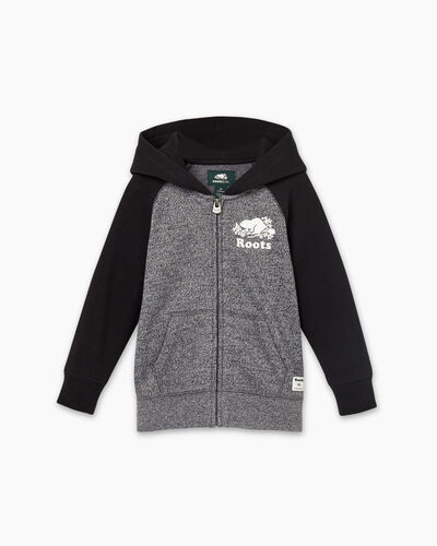 Roots-Kids Toddler Boys-Toddler Original Full Zip Hoody-Charcoal Pepper-A