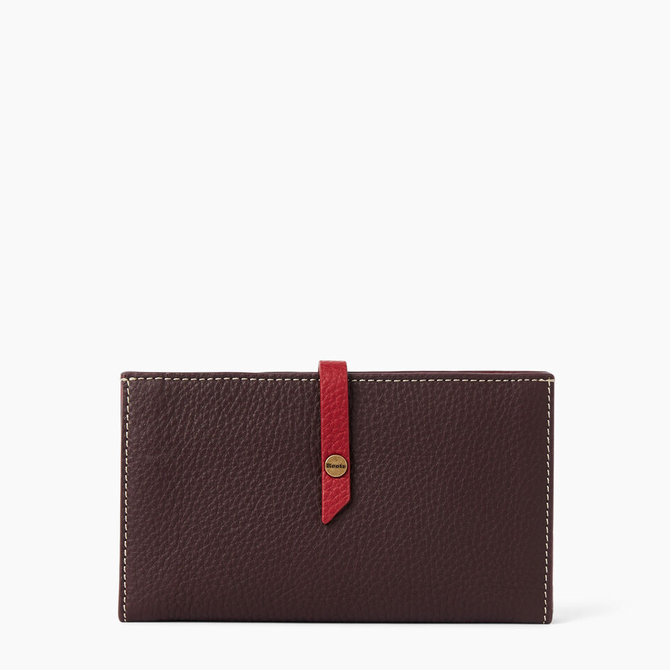 Roots-Stella Travel Wallet