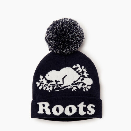 Roots-Clearance Kids-Kids Cooper Glow Toque-Navy Blazer-A