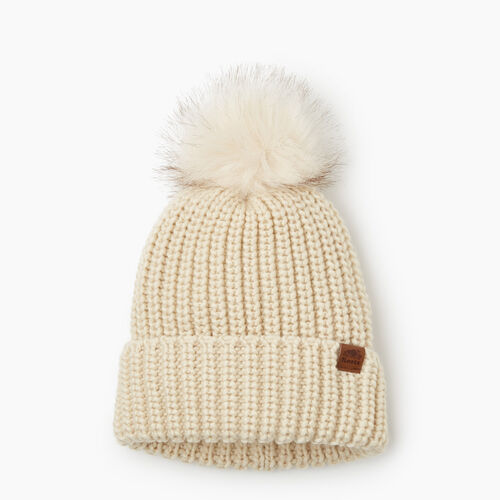 Roots-Kids Accessories-Kids Girl Olivia Toque-Light Fog-A