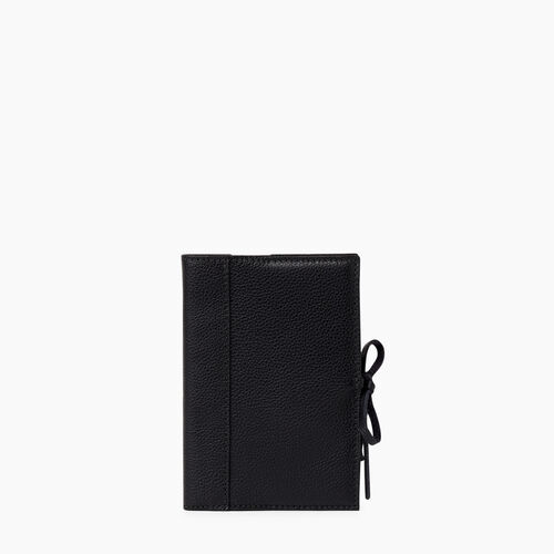 Roots-Leather Tech & Travel-Small Sketchbook Cervino-Black-A