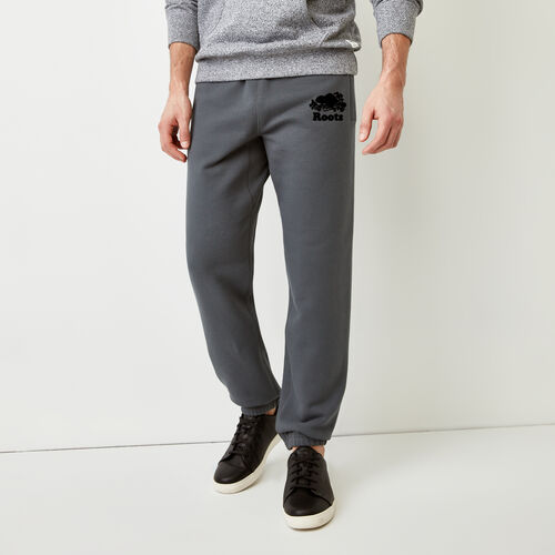 Roots-Men Bestsellers-Original Sweatpant-Iron Gate-A