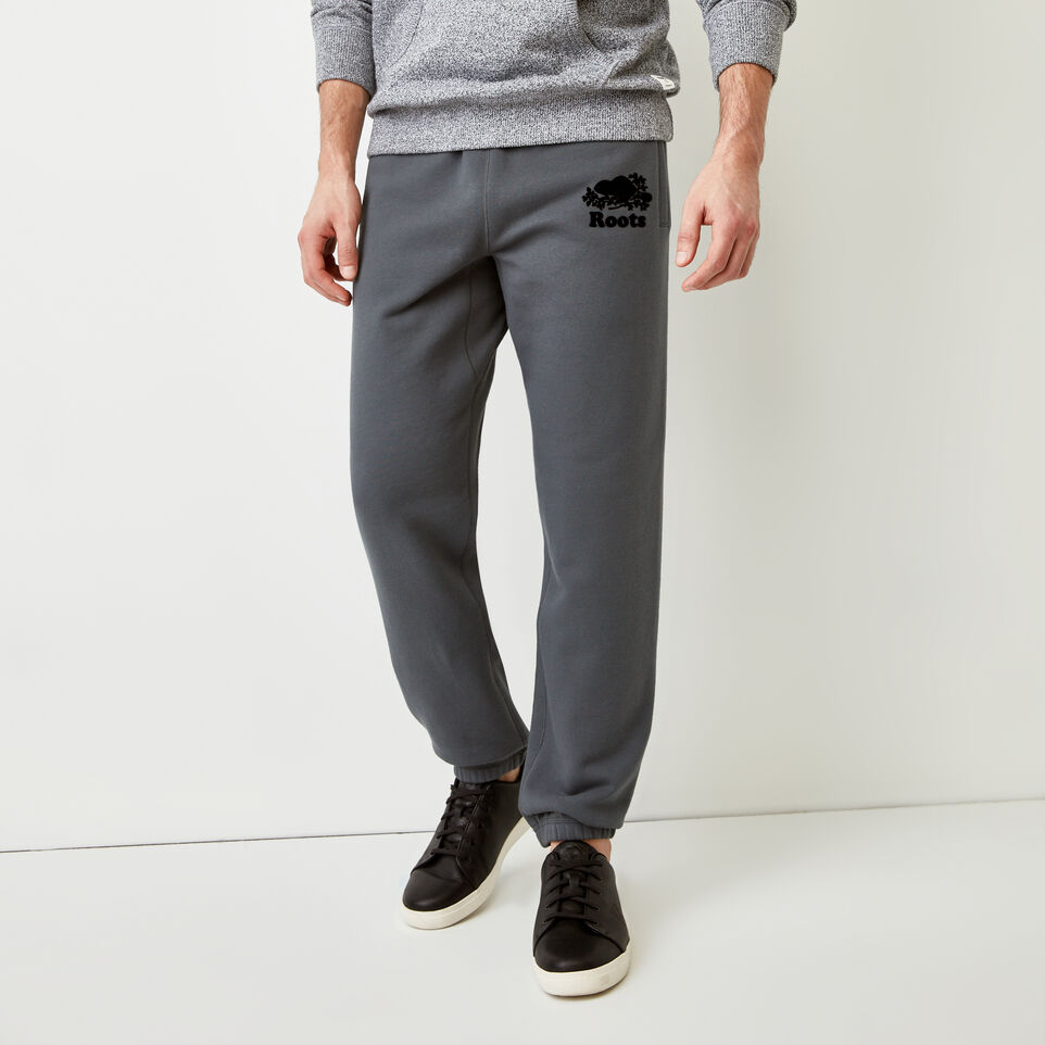 Roots-Men Our Favourite New Arrivals-Original Sweatpant-Iron Gate-A