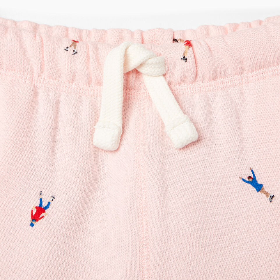 Roots-Kids Our Favourite New Arrivals-Girls Skater AOP Sweatpant-Light Pink-C