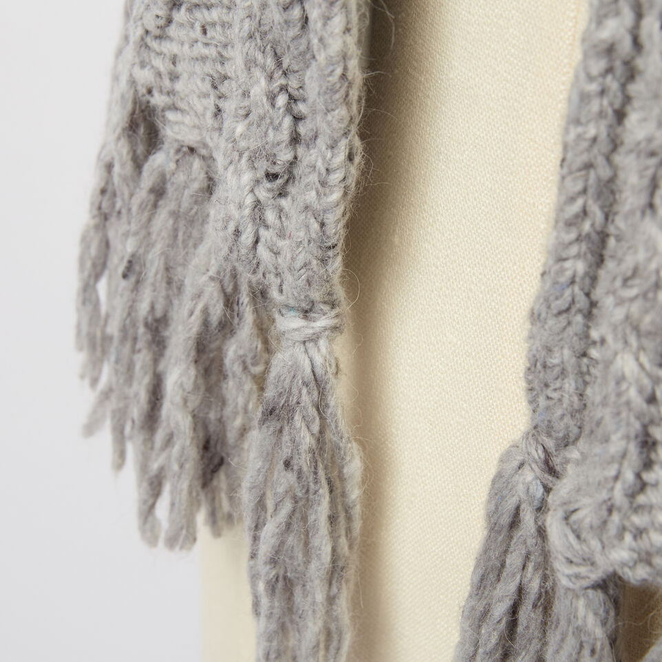 Roots-undefined-Brigitte Cable Scarf-undefined-C