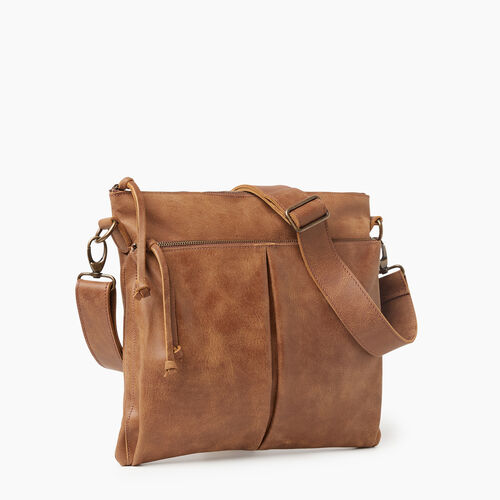 Roots-Leather New Arrivals-Cargo Bag Tribe-Natural-A