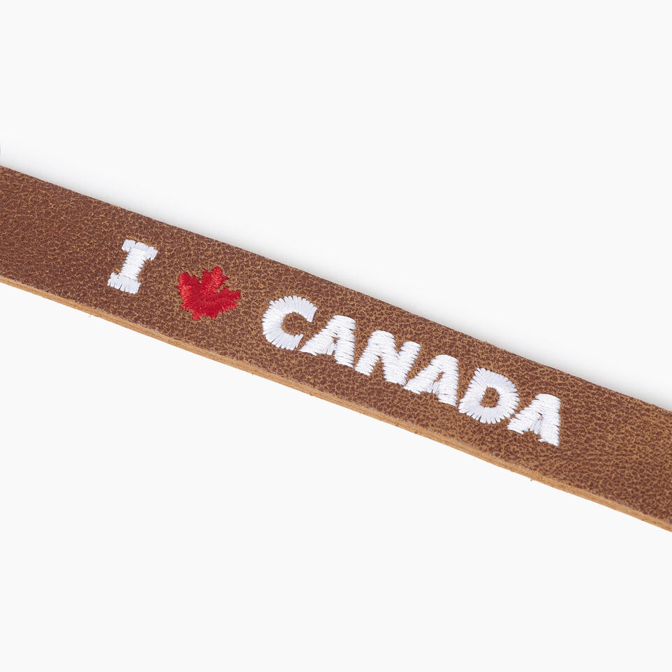 Roots-Gift Guide Canada Collection By Roots™-I Love Canada Bracelet-Natural-C