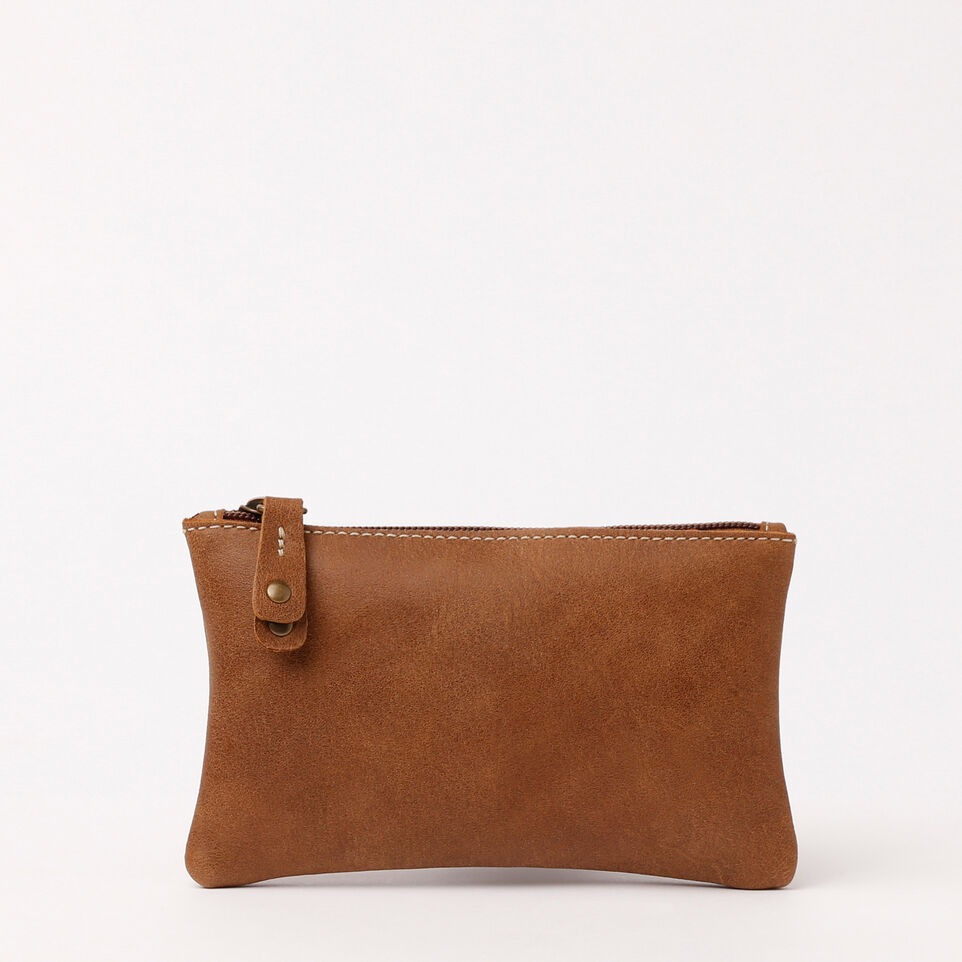 Roots-undefined-Medium Zip Pouch Tribe-Natural-C