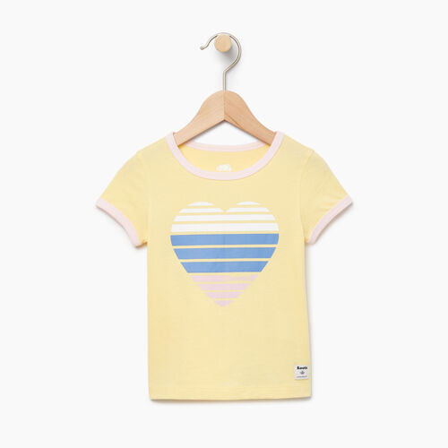 Roots-Kids Categories-Toddler Heart Ringer T-shirt-Lemon Meringue-A