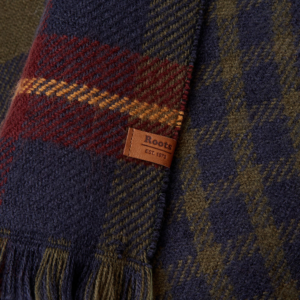 Roots-Women Categories-Cumberland Scarf-Navy-E