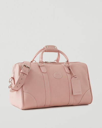Roots-Leather Leather Bags-Small Banff Bag Cervino-Pink Pearl-A