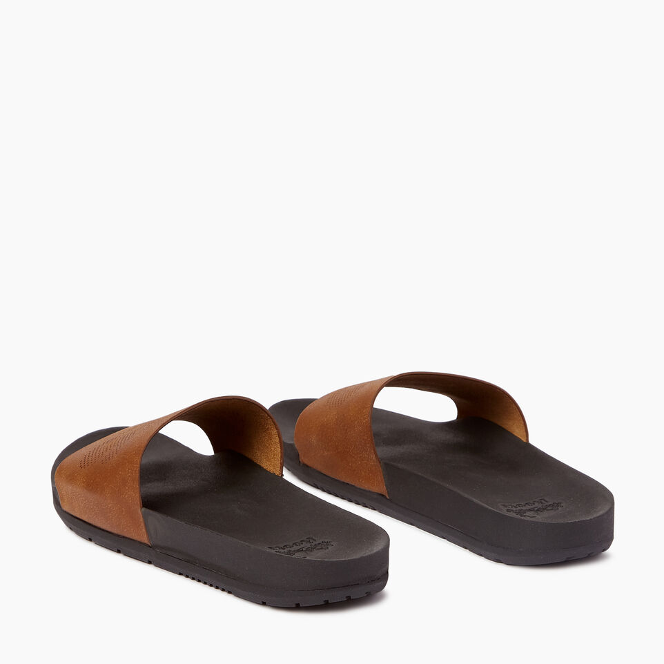 Roots-Footwear Men's Footwear-Mens Long Beach Pool Slide-undefined-E