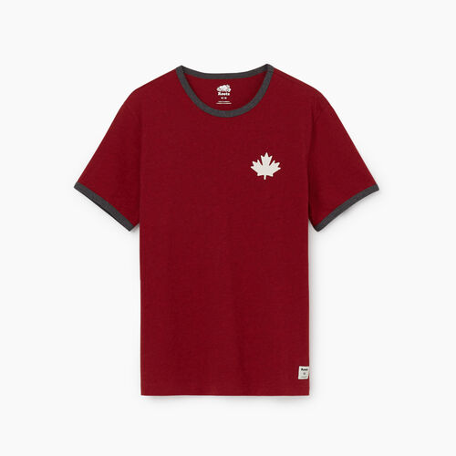 Roots-Men New Arrivals-Mens Canada Cabin Ringer T-shirt-Cabin Red Mix-A