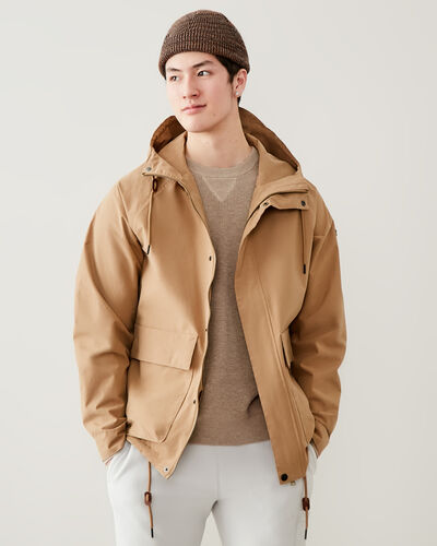 Roots-Men Jackets & Outerwear-Outdoor Field Jacket-Calfskin Tan-A