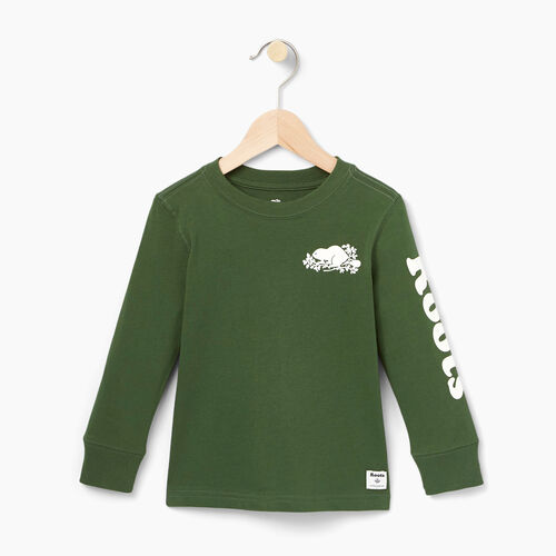 Roots-Winter Sale Toddler-Toddler Roots Remix T-shirt-Camp Green-A