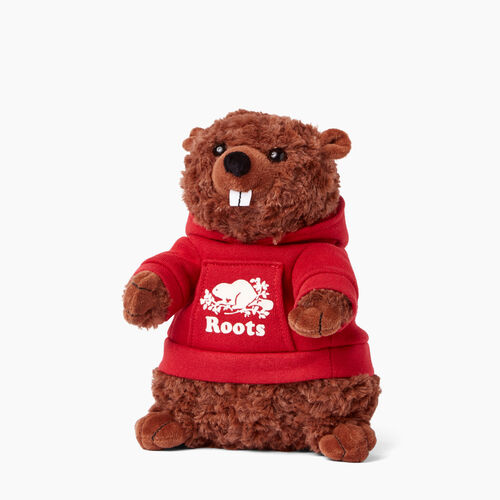 Roots-Women General Store-Beaver Stuffie-Cabin Red-A