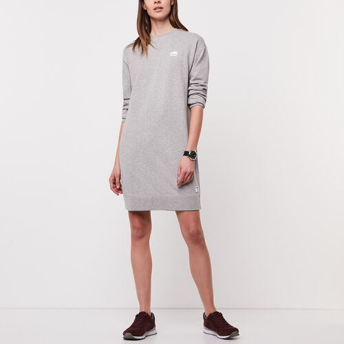 Roots-Women Dresses-Dasha Sport Dress-Grey Mix-A