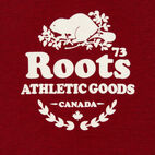Roots-Kids Boys-Boys Laurel Hoody-Cabin Red Mix-D