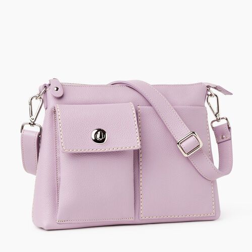 Roots-Women Crossbody-The Villager Cervino-Mauve-A
