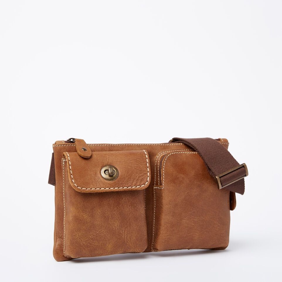 Roots Leather Handcrafted By Us Mini Handbags Village Pack Tribe Natural