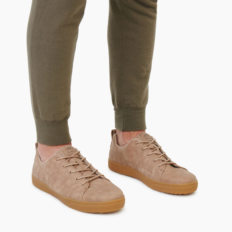 Roots-Men Footwear-Mens Parkdale Sneaker-Sand-B